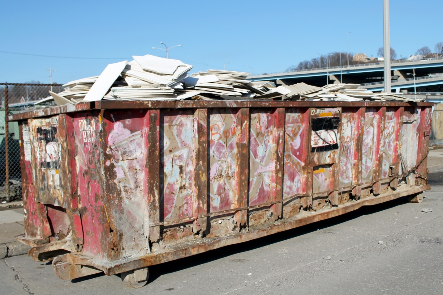 dumpster garbage industry free photo