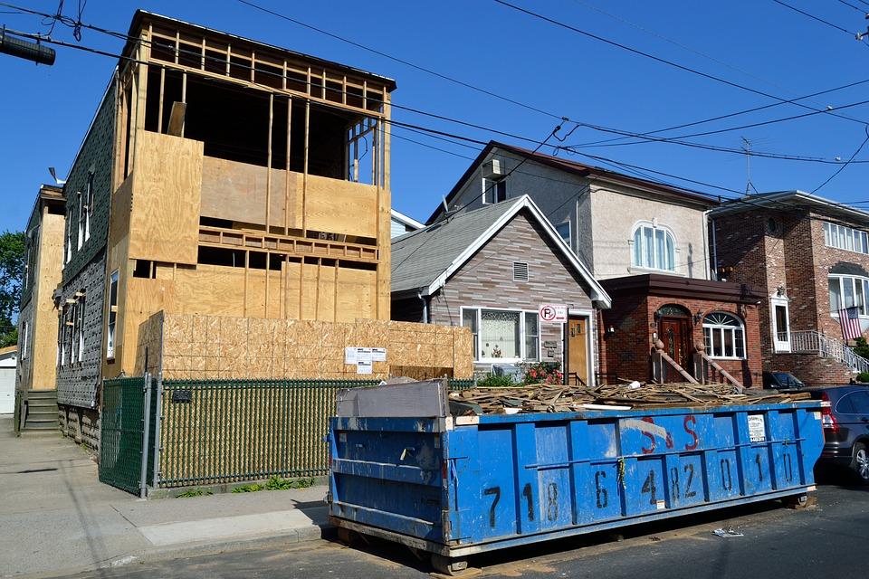 House, Under Construction, Construction, Men At Work