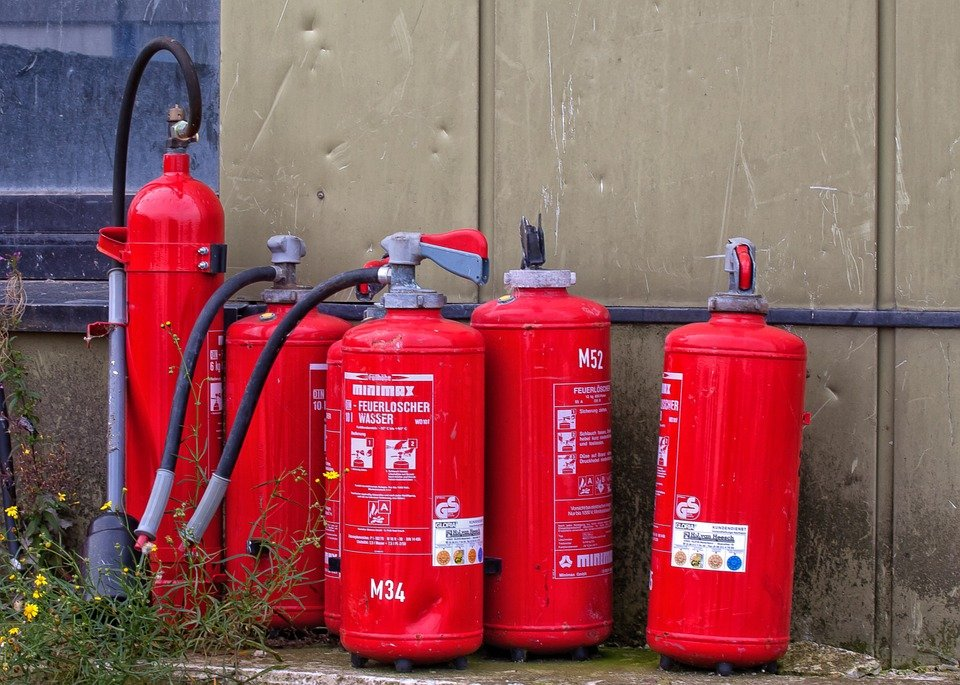 Fire Extinguisher, Brand, Fire, Fire Fighting
