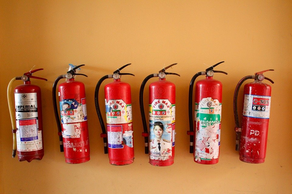 Fire Extinguisher, Security, Protection